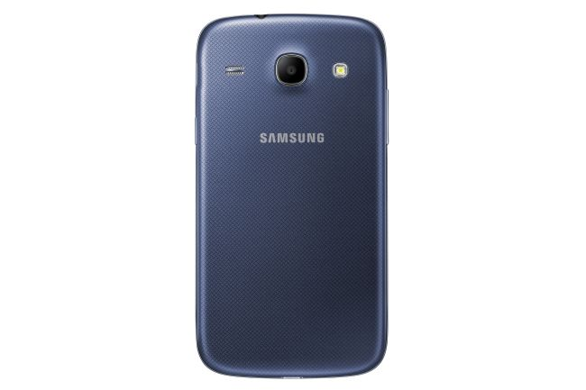 Samsung Galaxy Core runs a dual-core 1.2 GHz processor under the hood.