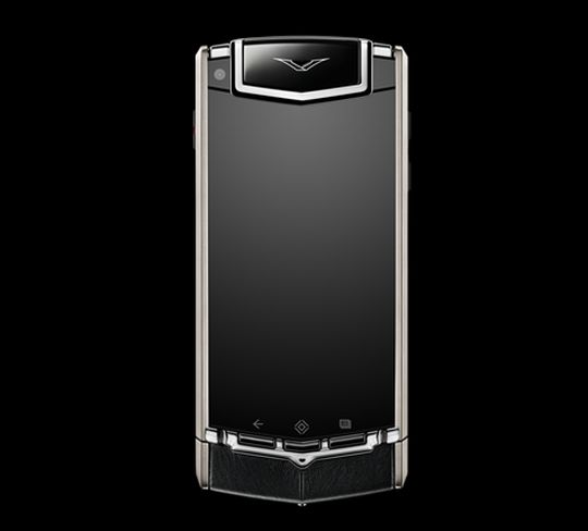 Vertu Ti comes with 64 GB internal memory with a icroSD card slot for expansion up to 32 GB.