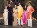 Shah Rukh Khan, Amitabh Bachchan, Jaya Bachchan, Abhishek Bachchan, Aishwarya Rai Bachchan, Gauri Khan