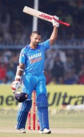 Dhawan Scored his 5th ODI Ton of 2013