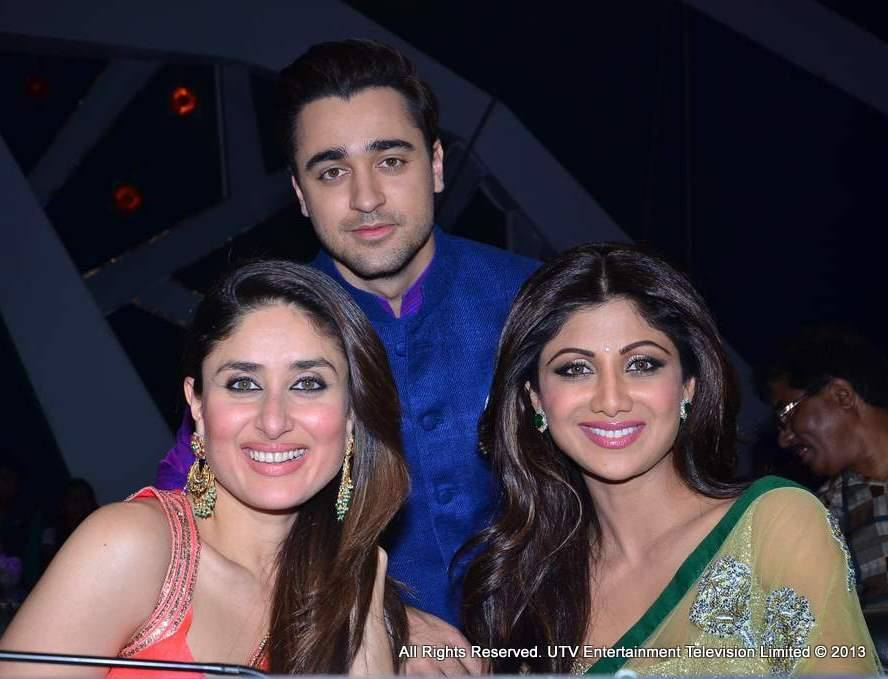 Imran Khan, Kareena Kapoor and Shilpa Shetty