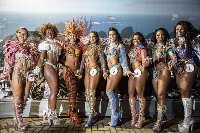 Selection For The Samba Carnival 2014