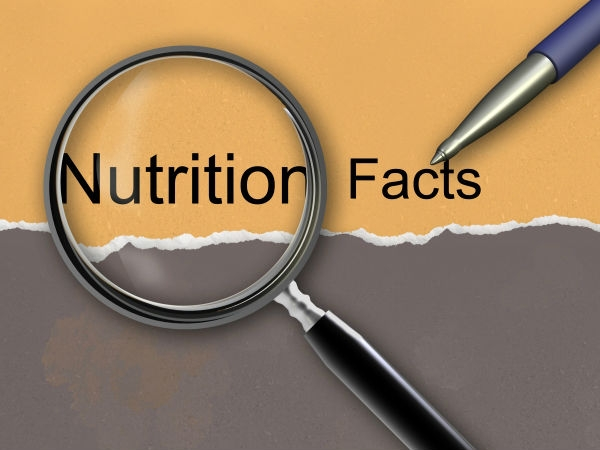 Healthy Living: How to Read Food Labels Correctly Nutrients Total carbohydrates