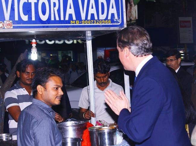David Cameron In Kolkata