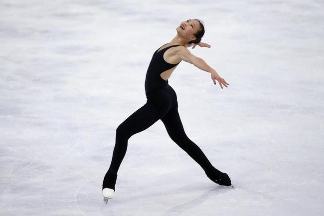 Figure Skaters Practice in Paris