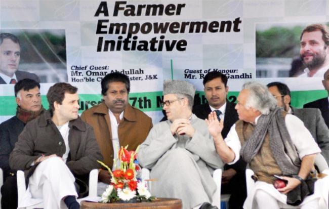 Rahul Gandhi in Jammu and Kashmir
