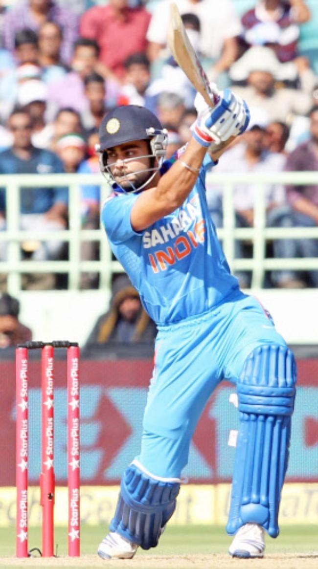 Virat Kohli Controlled the Indian innings