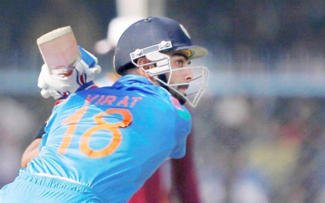 Virat Kohli Fell for 19