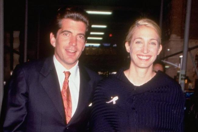 John F. Kennedy Jr. And Carolyn Bessette Kennedy
