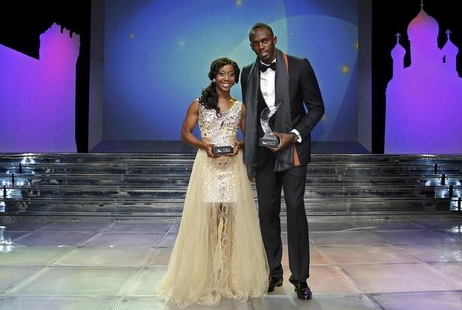 Usain Bolt and Shelly-Ann Fraser-Pryce