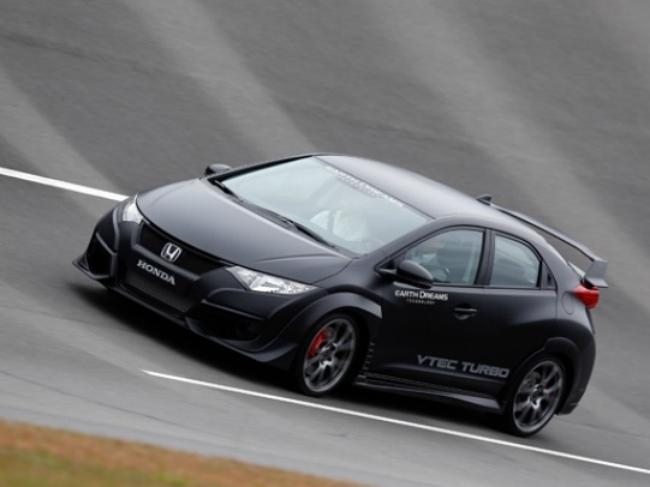 Latest Civic Type R Development Car