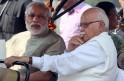 L.K. Advani, Narendra Modi