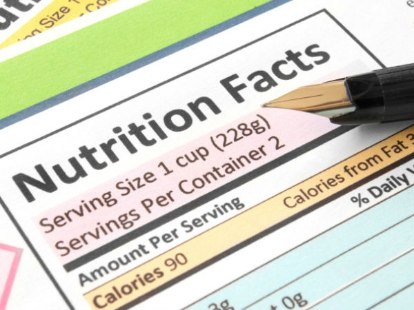Healthy Living: How to Read Food Labels Correctly Ingredients