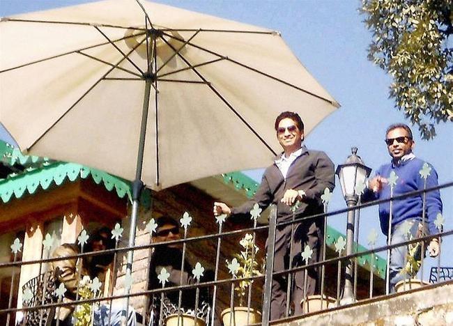 Sachin Tendulkar in Mussoorie