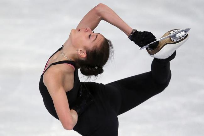 Figure Skaters Practice in Paris