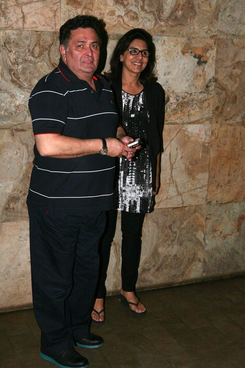 Rishi and Neetu Kapoor