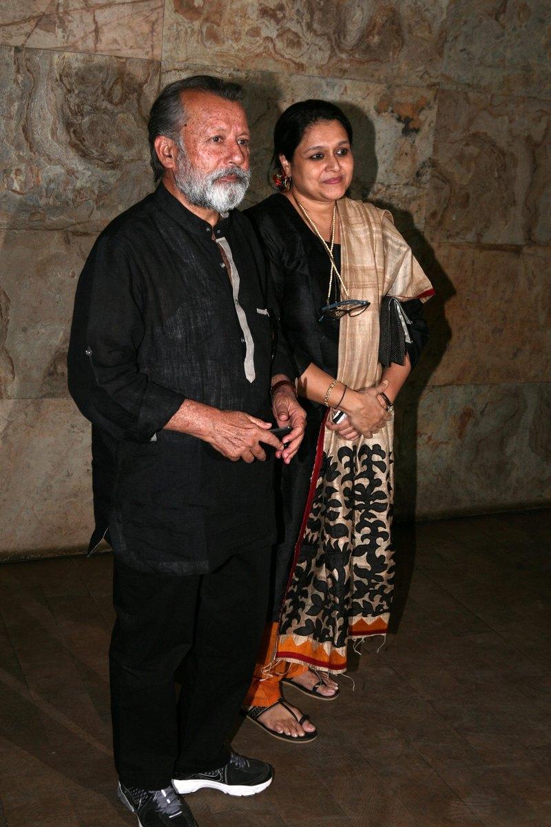 Supriya Pathak and Pankaj Kapur