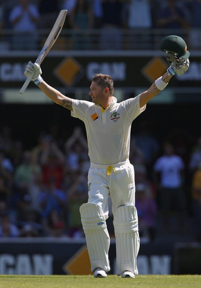 Michael Clarke Scores His 25th Test ton
