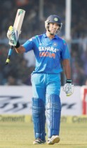 Yuvraj Scored His 51st Half-Century