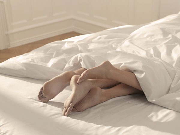 You may not know this, but every body part has the potential to maximise pleasure during sex. For instance, your legs! Most people don't know how you can use your legs in different ways during sex to enhance sensation for yourself and for your partner. So, next time instead of letting them just lie there or dangle off the bed, use these tips to steam things up in the bedroom with those sexy pins.  Image courtesy: © Thinkstock Photos/Getty Images