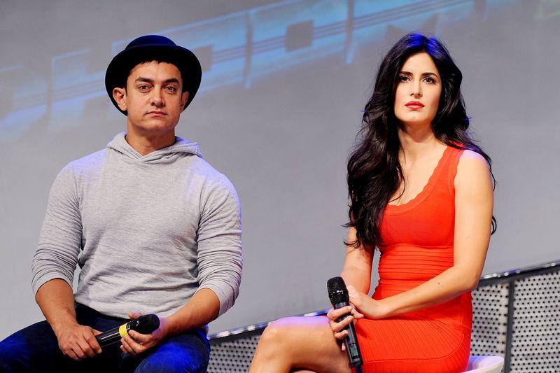 Katrina Kaif and Aamir Khan