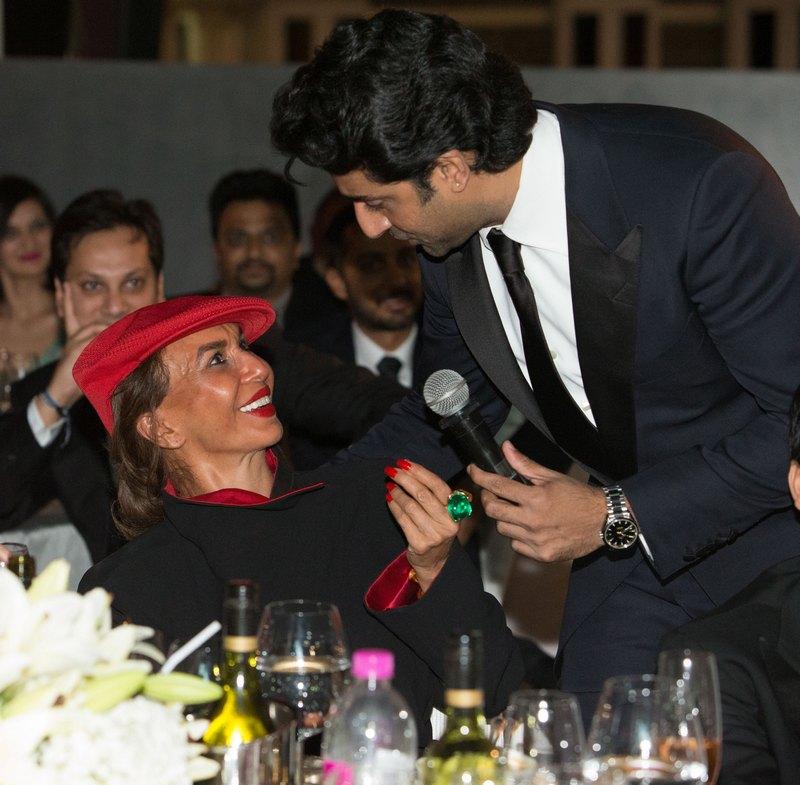 Abhishek Bachchan and Parmeshwar Godrej