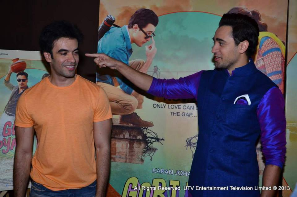Imran Khan and Punit Malhotra