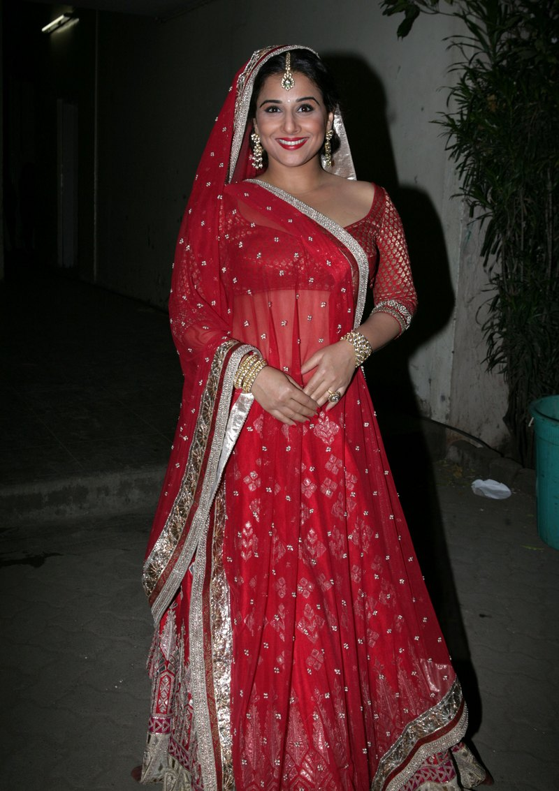 What do you think of Vidya's look here? Let us know in the comments section! Photo: Getty Images