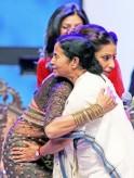 Mamata Banerjee and Bipasha Basu