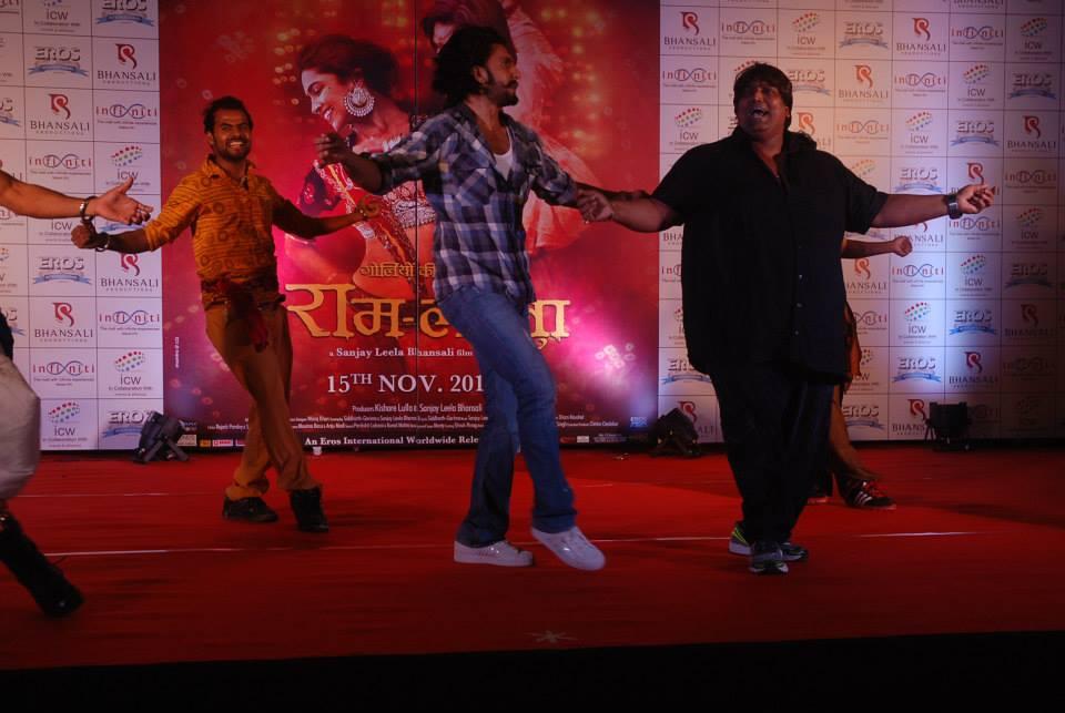 Ranveer Singh and Ganesh Acharya