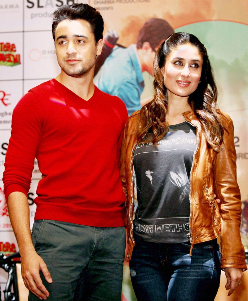 Kareena Kapoor Khan will star with Imran Khan in 'Gori Tere Pyaar Mein' that releases this Friday. Photo: PTI