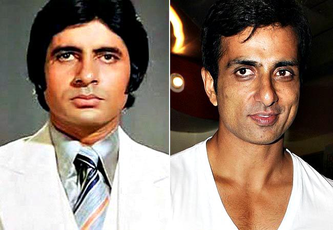 Amitabh Bachchan and Sonu Sood