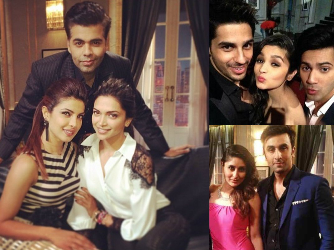 The guests on season 4 of Koffee With Karan are no longer a secret. With  a lineup like this, expect season 4 of the catty talk show to be  exciting as ever!