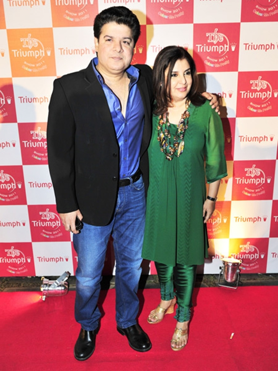 Farah & Sajid Khan: Farah Khan and brother Sajid Khan have a lot in common. They are both into filmmaking, have been TV hosts, and also share similar features.