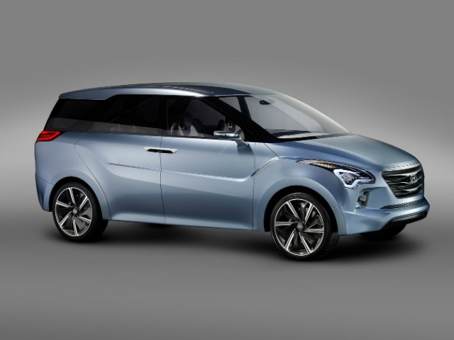Hyundai's new MPV concept was unveiled at the 2012 Indian Auto Expo