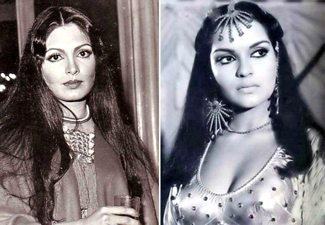 Parveen Babi and Zeenat Aman