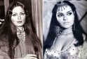Parveen Babi and Zeenat Aman