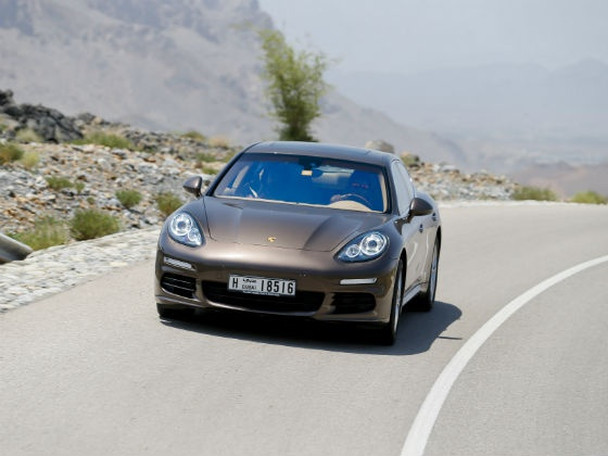 With the new Panamera, Porsche has managed to stretch the four-door sports car concept even further. We drive it around the beautiful roads of Oman to give you a first hand report!