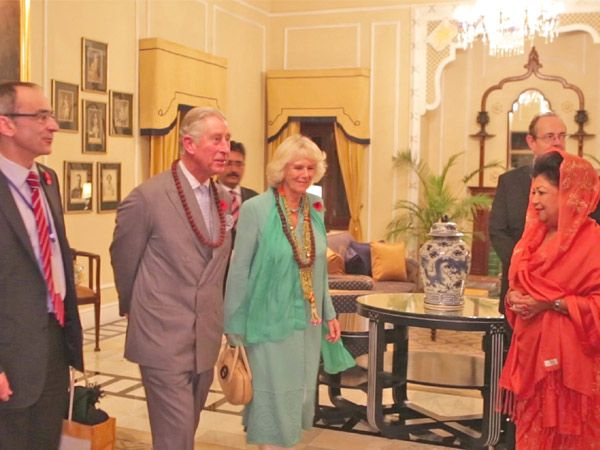 Prince Charles and his wife, Camilla, the Duchess of Cornwall, are visiting India; having already made stops in several Indian cities including Mumbai, Pune, Delhi and Dehradun. But it's their stay at the beginning of their trip, at the spa resort Ananda, located in the majestic palace of the former maharajas of Tehri Garhwal in the foothills of the Himalayas, that caught our attention. Here's a look at the very 'royal' suite the royal couple enjoyed.