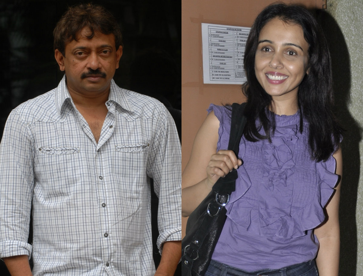 Ram Gopal Varma and Suchitra Krishnamoorthi