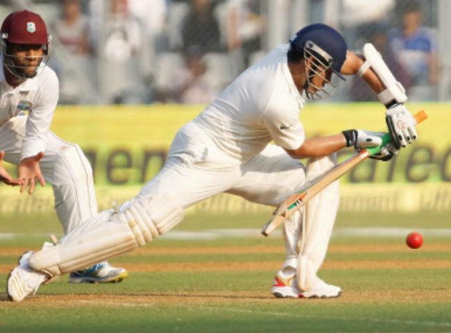 Sachin Tendulkar rock solid defence