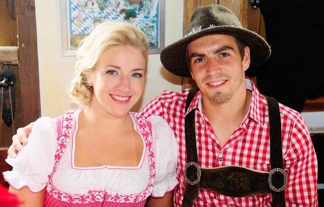 Philipp Lahm, Claudia Lahm