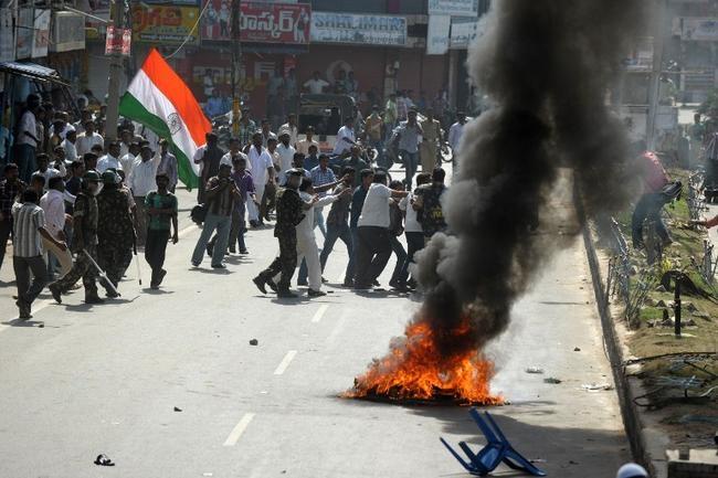 It's total shutdown in Seemandhra