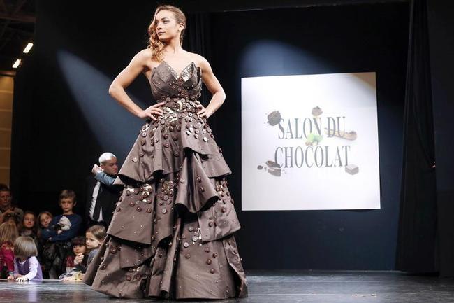 Chocolate Fashion at Paris Chocolate Fair