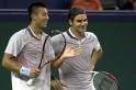 Zhang Ze, Roger Federer