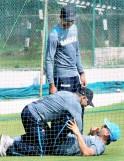 Team India's Practice Session