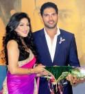 Yuvraj Singh and Rituparna Sengupta