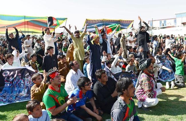 Afghan Fans Rejoice World Cup Berth