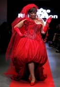 Plus-Sized Models at Paris Fashion Show