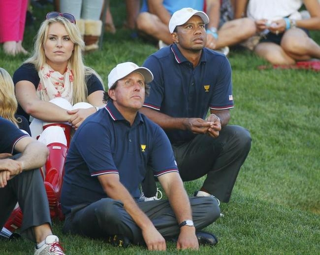 Tiger Woods, Lindsey Vonn, Phil Mickelson